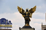 Sculpture of the Archangel Michael, Lach Gates, Independence Square