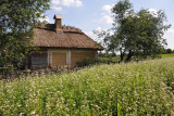 Thatched log house, Middle Dnipro Region, Pyrohiv