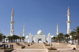 Sheikh Zayed Mosque, on the western end of Abu Dhabi IslandAbu Dhabi