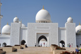 Main (eastern) entrance of the Sheikh Zayed Mosque