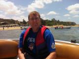 Me headed for Ilha do Mussulo