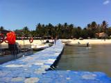 Sonho Dourado dock, Ilha do Mussulo