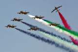 UAE Aerobatic Team - Al Fursan - flying Aermacchi MB-339A jet trainers