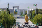 The First and Second Presidents of Turkmenistan face off