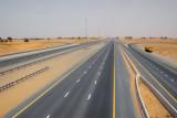 Highway through the desert, Sharjah