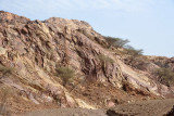 Rocky landscape - Willayat Mahdah, Oman