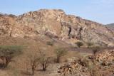 Hajar Mountain landscape