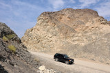 The road to Hatta Pools - passable in a regular car
