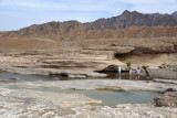 The main area of Hatta Pools above the canyon