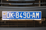 Senegal License Plate - Dakar