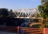 Railroad bridge over the Rio Acelhuate at Aguilares, El Salvador