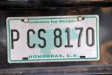 Honduras License Plate
