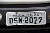 Brazil License Plate - Campinas (SP)