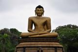 Seated Buddha, Viharamahadevi Park, Colombo