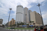Fort District towers - Bank of Ceylon Head Office and Hotel Galadari