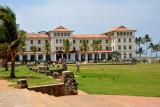 Galle Face Hotel and the southern end of the Galle Face Green