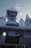Gateway to Hindu Street during Diwali