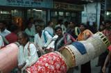 Hindu festival drummers, Shankharia Bazar-Dhaka