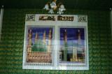 Tile art with mosques, Dhaka