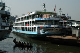 Large Bangladeshi river ferries...the type that make the news all-to-often when they wreck and kill hundreds...