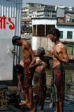 Bath time at Sadar Ghat, Dhaka