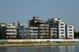 Riverside Dhaka-Faridabad, just prior to the Bangladesh-China Friendship Bridge over the Buriganga