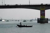 The Bangladesh-China Friendship Bridge (1989) over the Buriganga, part of the Dhaka-Mawa Highway