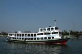 Medium-sized ferry headed to Dhaka