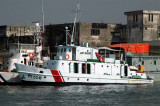 Bangladesh Coast Guard CGS Rangamati P114 near Dhaka-built in Bangladesh