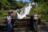 Me and my dad at Mae Klang Waterfall, Thailand
