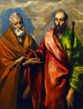 St Peter and St Paul; El Greco
