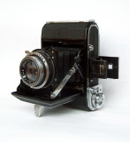 Zeiss Ikon Ikonta 4,5x6,  the camera I used