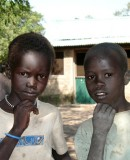 Rumbek children