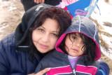 Me and Alina at the snow