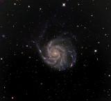 M 101 (NGC 5457), la Pinwheel Galaxy