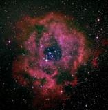 NGC 2237 - la Nébuleuse de la Rosette