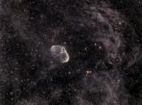 NGC 6888 et LBN 208