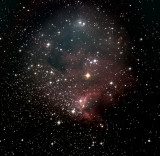 C 9, la Nébuleuse de la Grotte - Cave Nebula