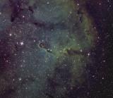 IC 1396 et la Trompe d'éléphant - filtres à bande étroite
