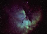 Pacman Nebula 05 10 2011