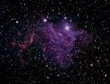 IC 405, Caldwell 31,  la Flaming Star Nebula