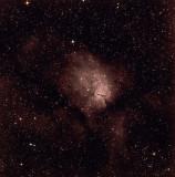 NGC 6820 (Sharpless 2-86), et NGC 6823