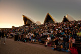Open air performance at Sydney Opera House