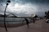 Sydney Harbour fisheye