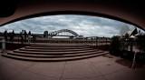 Sydney Harbour Bridge from Sydney Opera House concourse