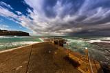 Cloud formation over Avalon Beach
