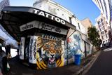 Tattoo shop in Sydney CBD
