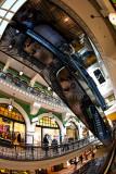 Escalator in Queen Victoria Building, Sydney