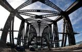 Sydney Harbour Bridge fisheye