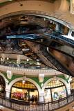 Queen Victoria Building escalator portrait